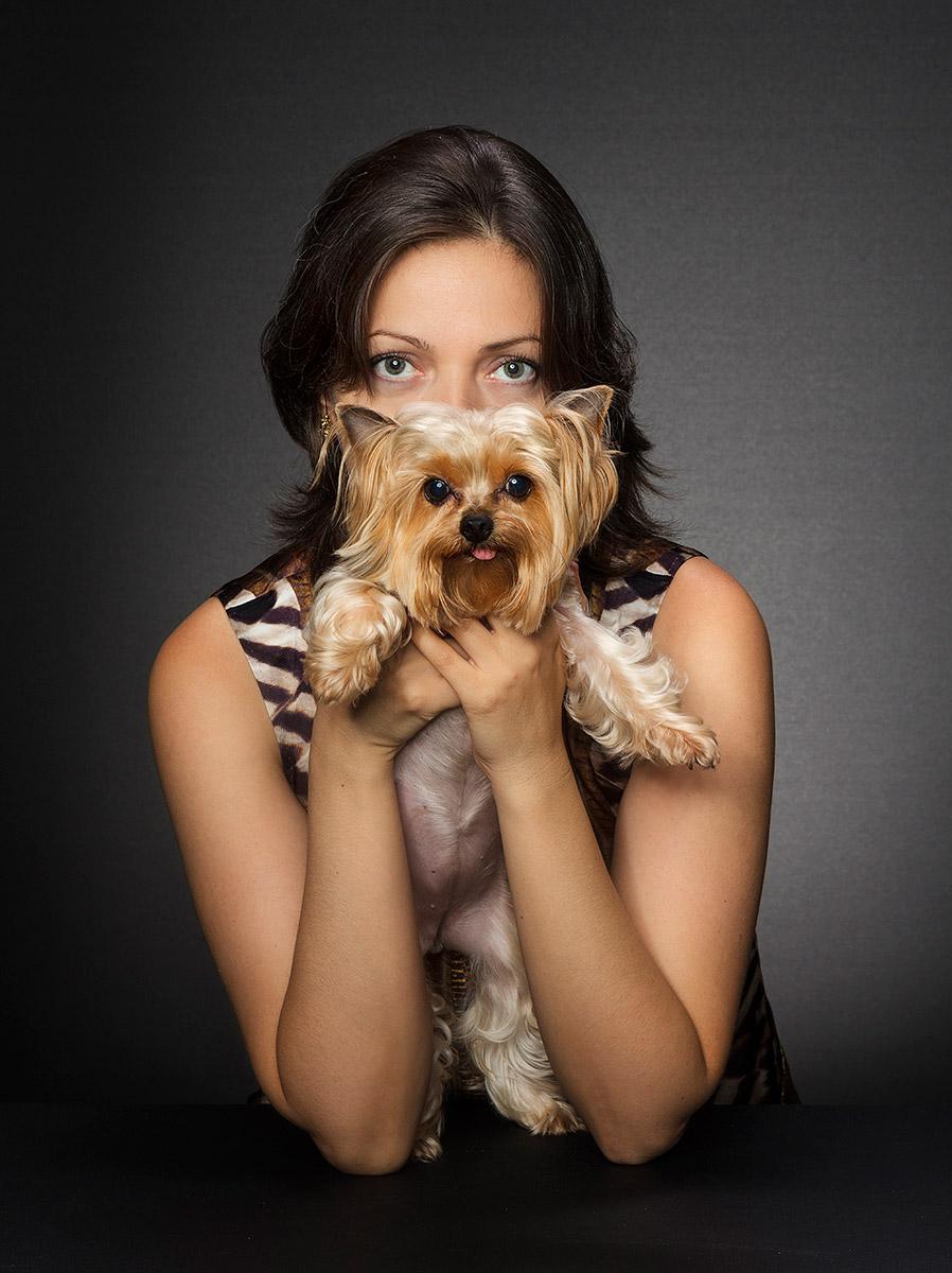 צילום עם כלב