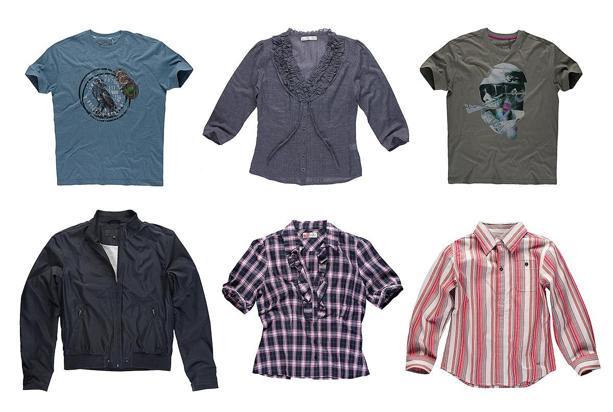 צילום בגדים בסטודיו